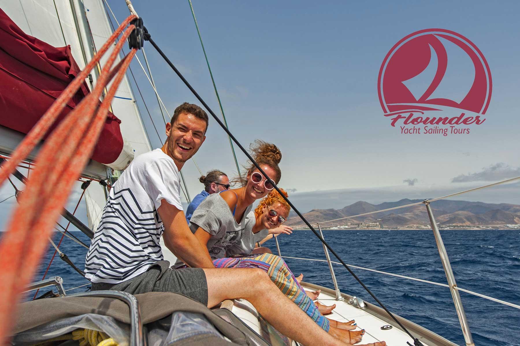 Flounder Sailing Trip